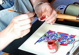 Peinture un monde s'ouvre à nous